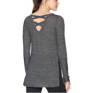 PRANA Esme Long Sleeved Top with split seam